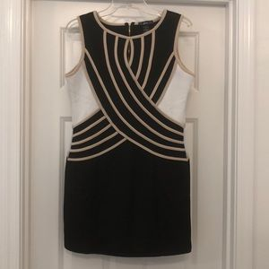Finesse Size L Black Mini Dress